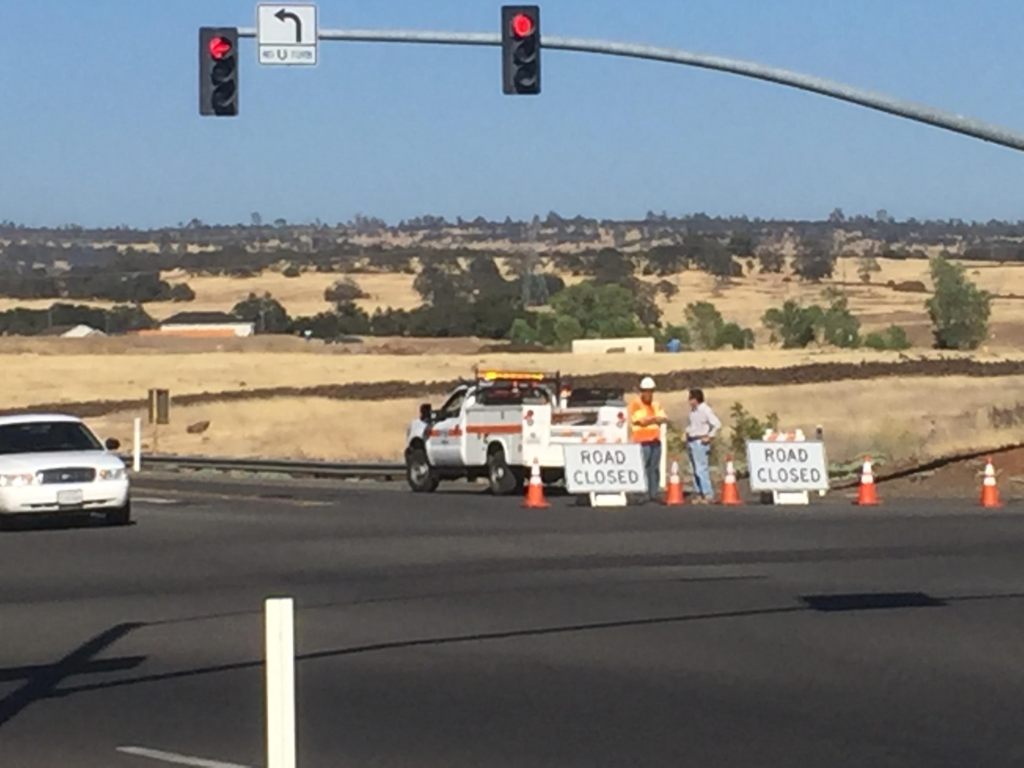 Brush Fire Burns Near California Park In Chico