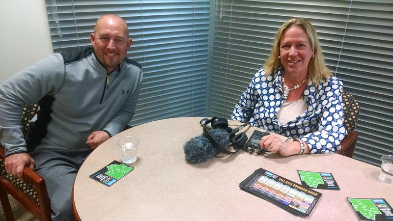Scott Eastman of the Siskiyou Family YMCA is interviewed by NSPR GM Beth Lamberson