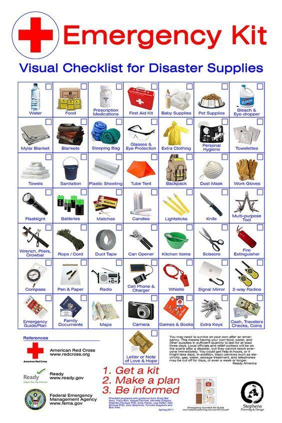 3 day emergency supply guidelines queensland