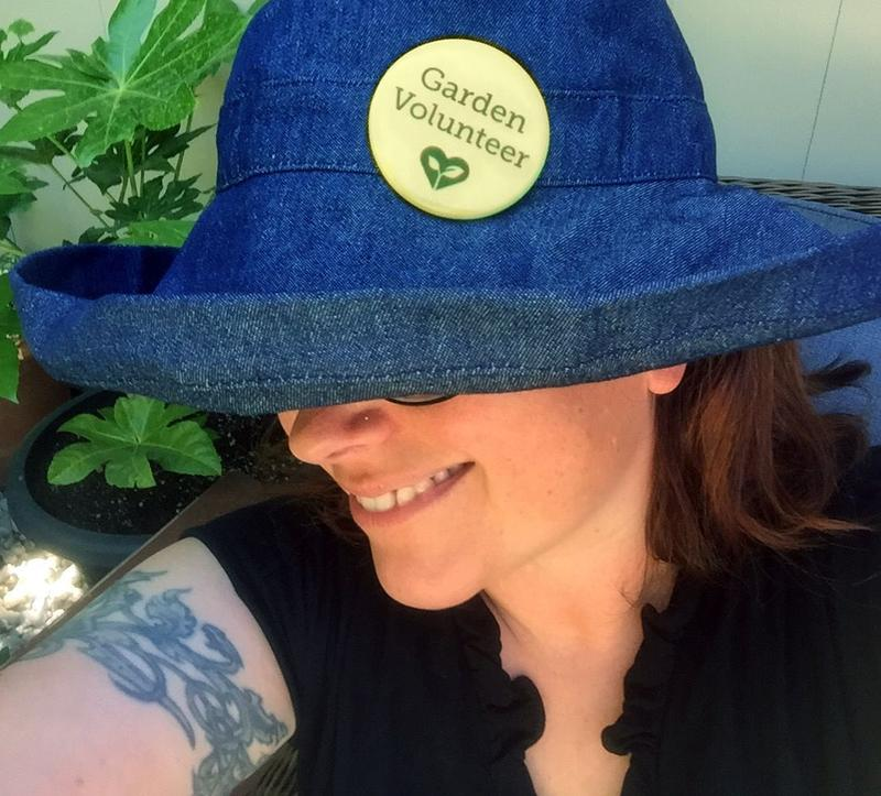 Laura Wilson, Garden Conservancy member, fan and volunteer