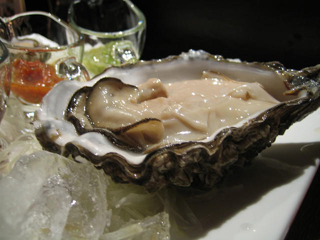 Giant Kumamoto oyster