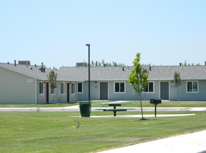 Housing center in Merced