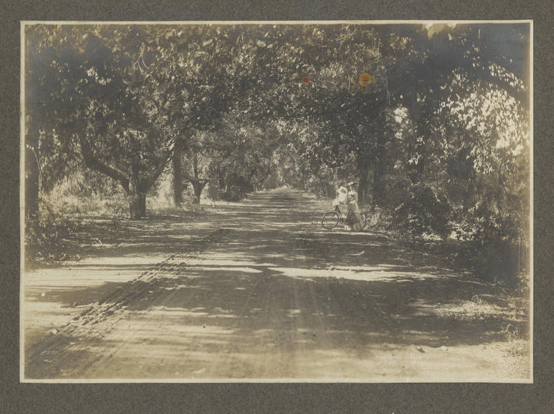 Locals enjoyed Bidwell Park long before it was officially a park. (photo ca. 1902 or earlier)