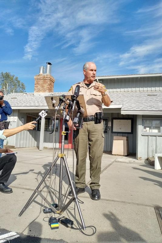 Tehama County Assistant Sheriff Phil Johnston