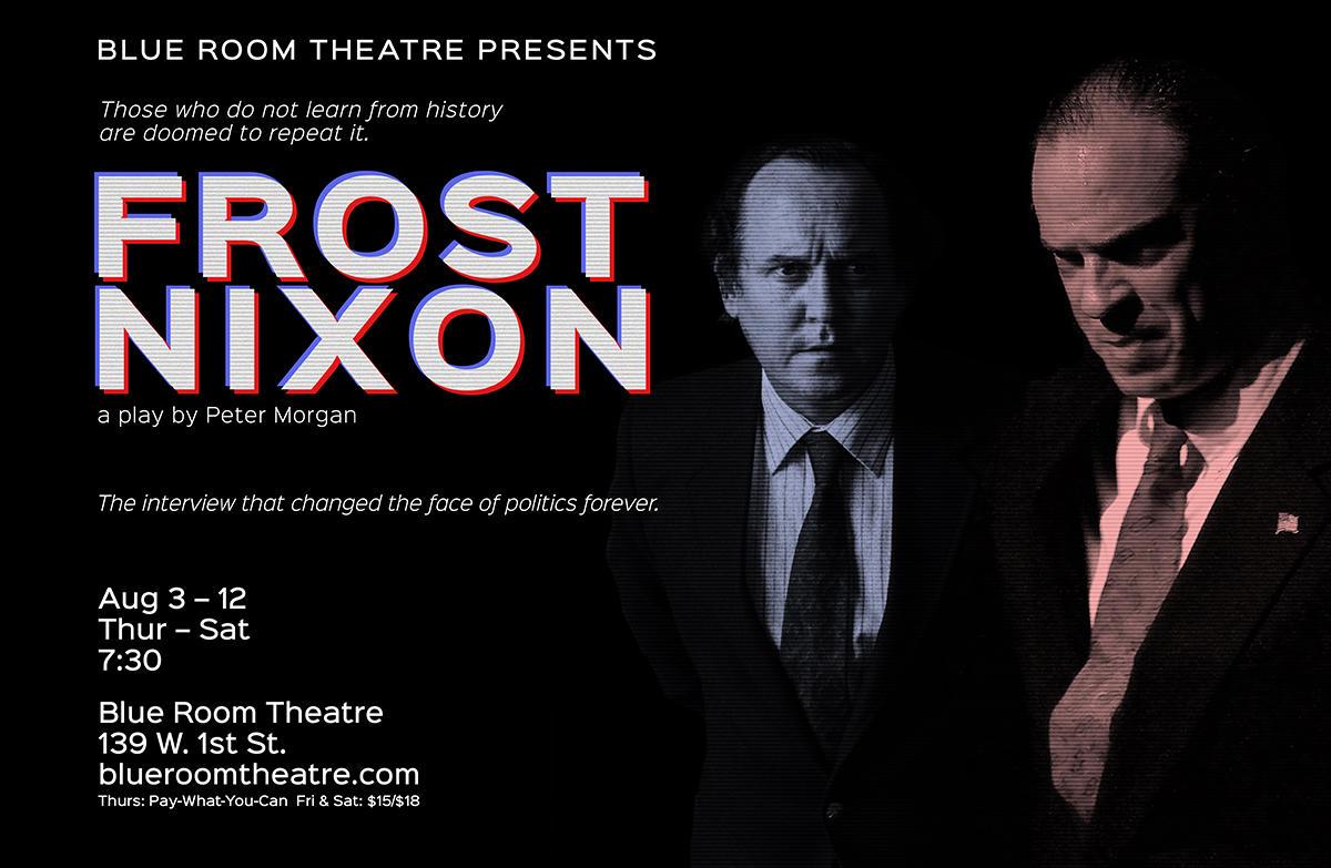 Blue Room Frost Nixon
