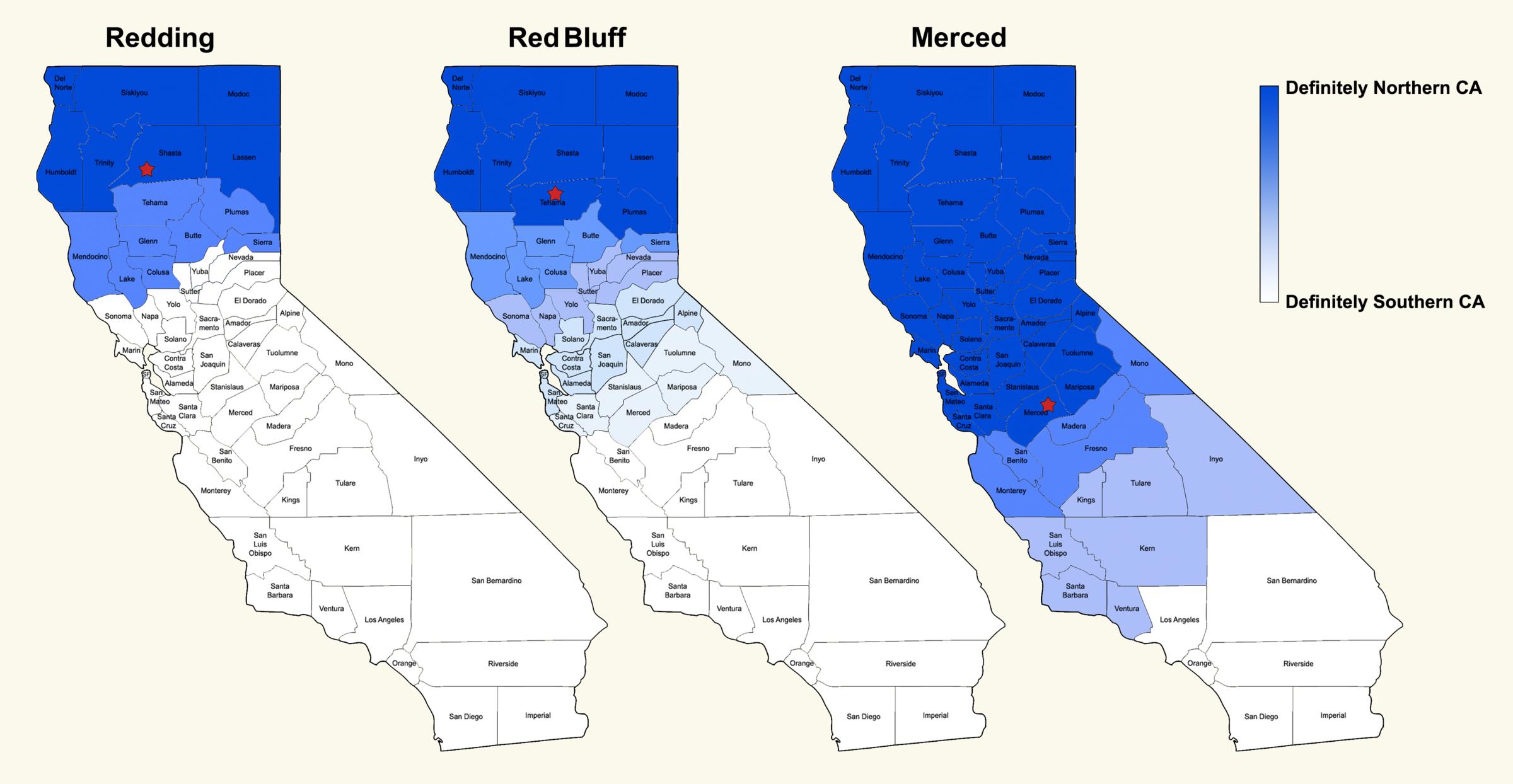 California Map Key