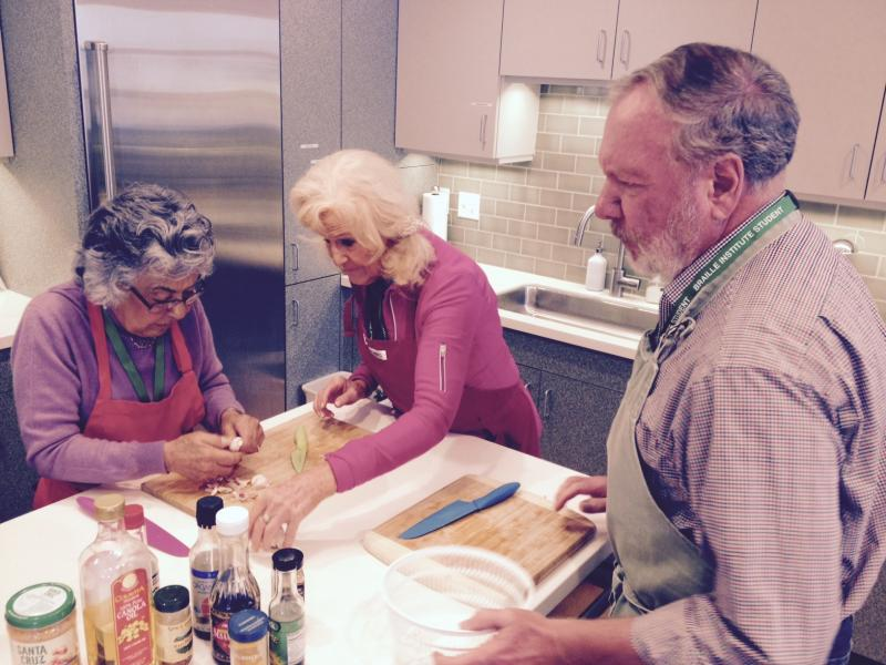 The Braille Institute's Santa Barbara Center is offering free classes and programs for people with sight issues on the Central and South Coasts, including cooking classes in a recently revamped kitchen/classroom center