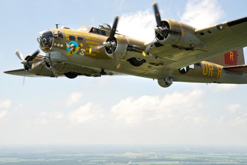 Collings Foundation B-17 one of four planes visiting Central, South Coasts