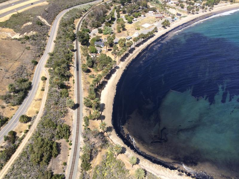 More than 140,000 gallons of oil was spilled in 2015 pipeline break at Refugio State Beach
