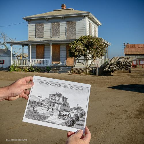 Historic Day house in Ventura up for grabs, if you are willing to move, and restore it