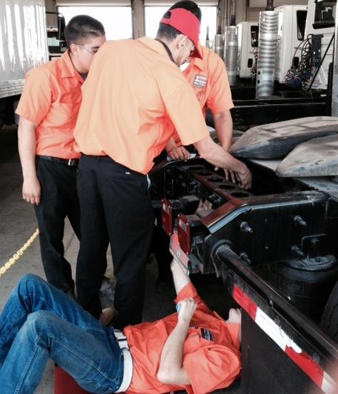 Ventura College students learn diesel engine repair, maintenance as part of new college/business partnership.  A lack of trained diesel engine mechanics means program graduates should have an easy time finding jobs locally after graduation