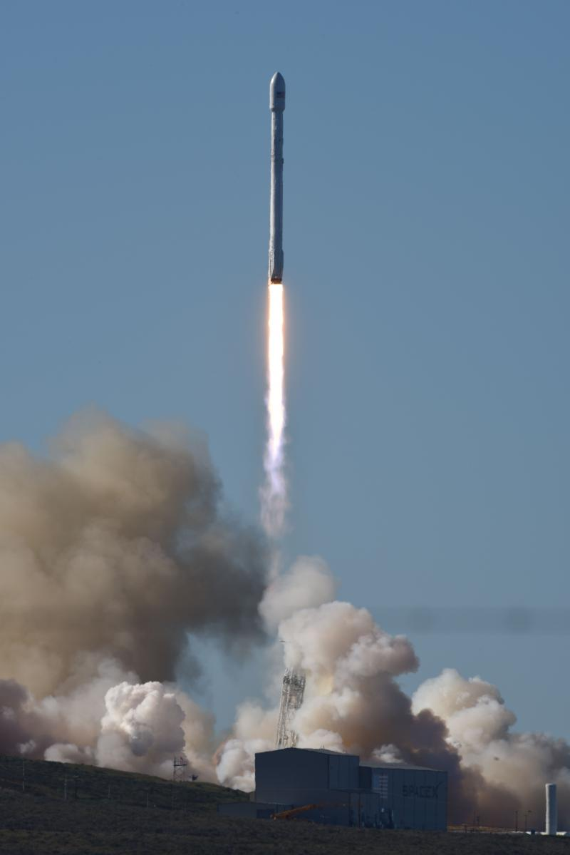 SpaceX rocket launched from VAFB Saturday