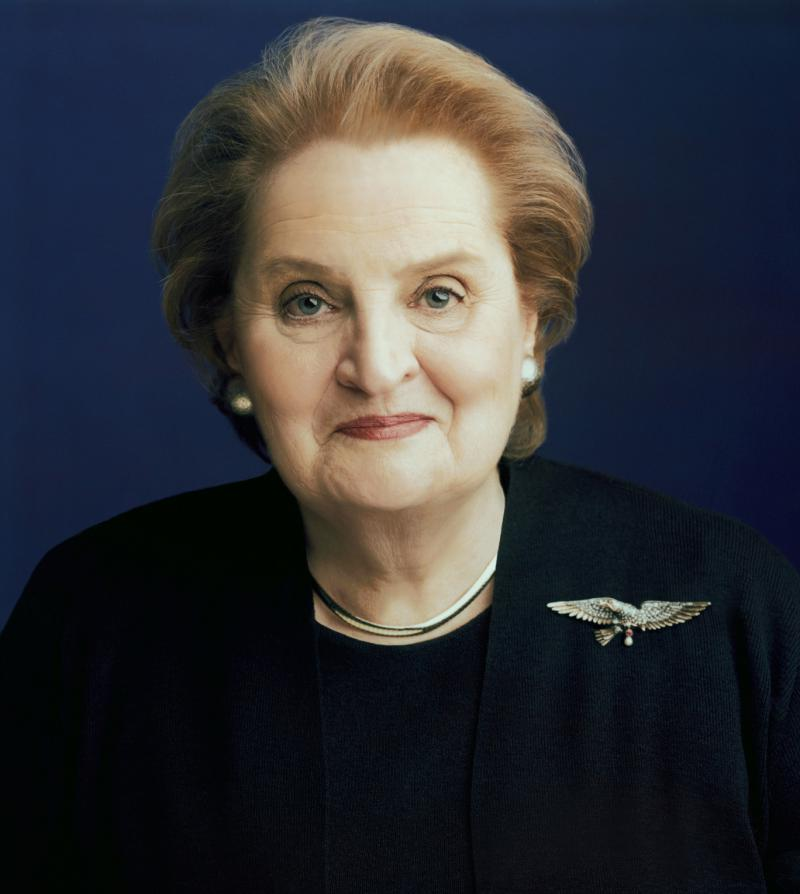 Former U.N. Ambassador, Secretary of State Madeline Albright's pin collection featured at Reagan Library in Simi Valley