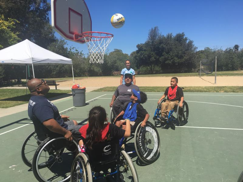 Delightful Kids, Teens In Wheelchairs Take Part In Sports At Special South Coast Camp