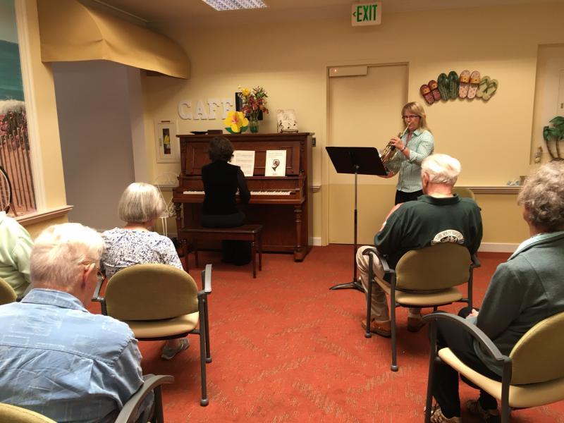 A study looks at how live classical music versus recorded classical music impacts dementia patients.