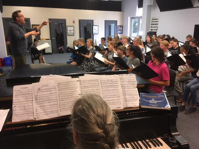 The Conejo Valley based Los Robles Childrens's Choir is celebrating its 20th anniversary