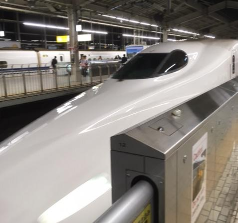Japan's bullet trains can top 200 miles an hour.  California's proposed high speed rail system is planning to have trains which move at similar speeds