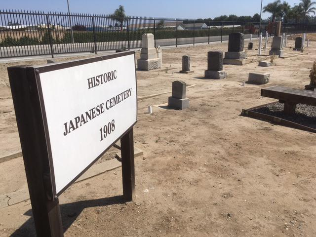 The Histroic Japanese Cemetery off of Pleasant Valley Road in Oxnard was hit by vandalism, with grave markers and tombstones knocked over and damaged
