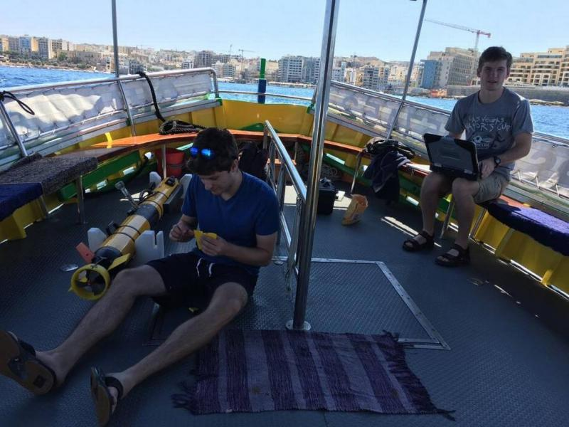 Cal Poly students on expedition to Malta