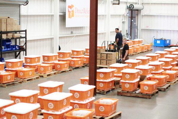 DRI is ready to make large scale shipments of medicine, and medical supplies from its Santa Barbara County warehouse