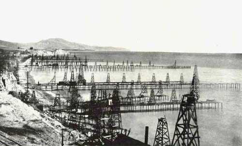 The Summerland area is home to nearly 200 old abandoned offshore oil wells