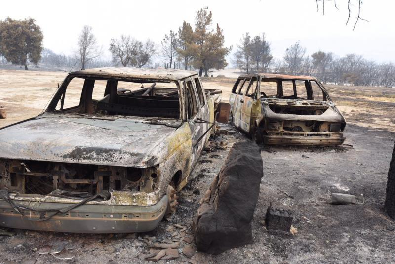 The Whittier Fire destroyed 16 homes, 30 outbuildings and a number of vehicles