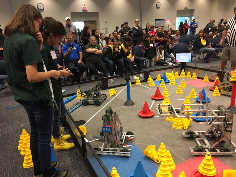 VEX Robotics Competition in Camarillo