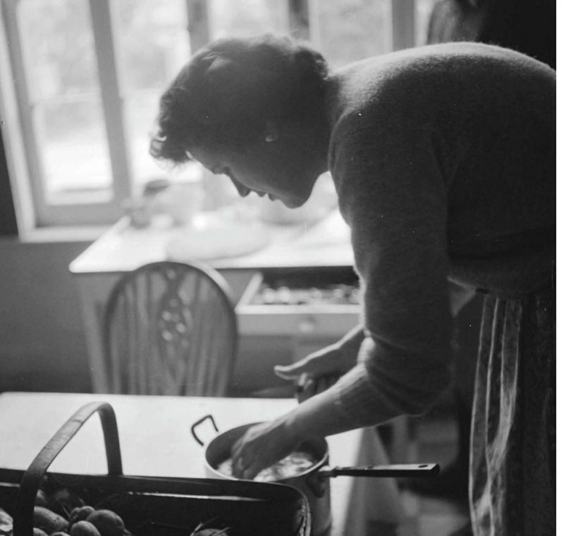 "One of the more than 200 photographs from ""FRANCE IS A FEAST: The Photographic Journey of Paul and Julia Child"""