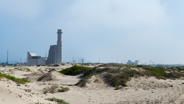 Illustration of proposed Punte Power Project in Oxnard