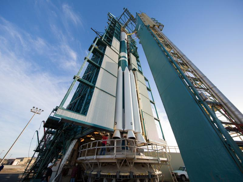 A United Launch Alliance teams is hoping it will be able to finally launch a Delta II rocket with a weather satellite into orbit from Vandenberg Air Force Base.  Technical snafus and weather issues postponed three previous attempts.