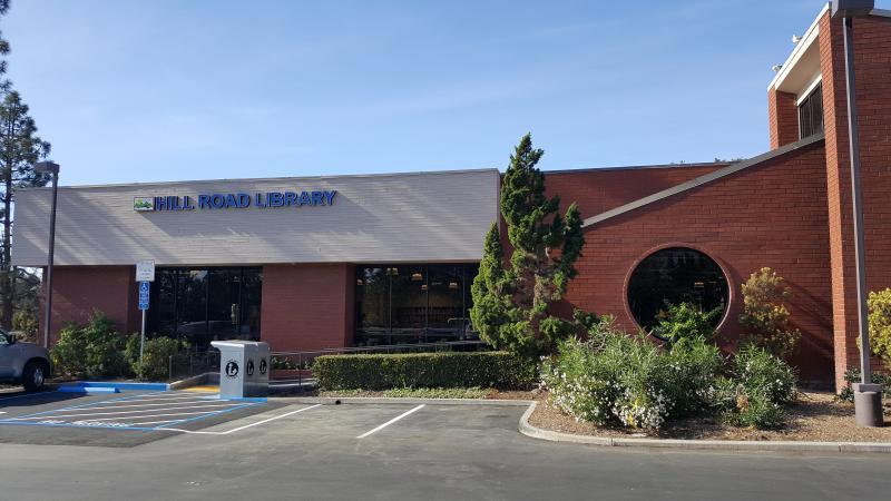Hill Road Library in Ventura