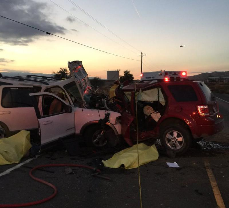 Crash kills three Sunday afternoon near New Cuyama