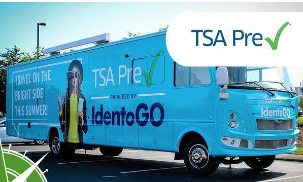 TSA Pre-Check enrollment van