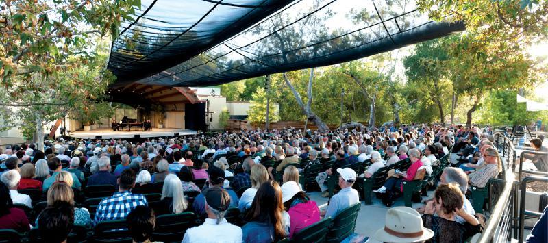 An Ojai Music Festival event at Libby Bowl