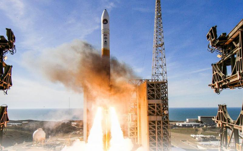 A rocket with a secret military payload is launched from Vandenberg Air Force Base Friday