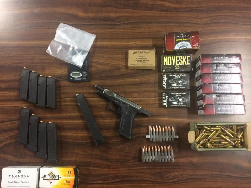 Guns, weapons seized from five men in Santa Barbara County