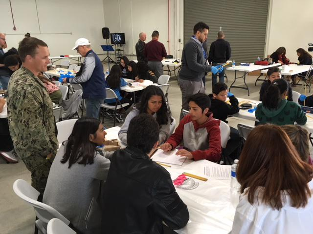 More than 100 kids take part in a STEM event at Naval Base Ventura County