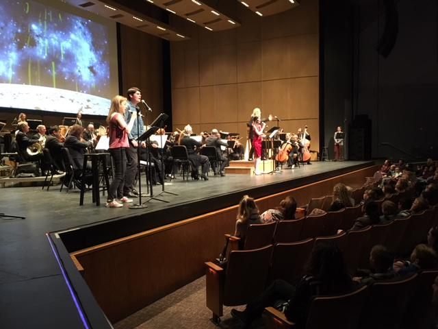 Thousands of kids at Thousand Oaks Civic Arts Plaza for New West Symphony muisic program