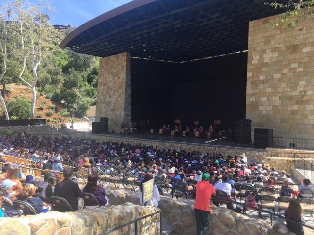 Thousands of kids attend a special educational music program at the Santa Barbara Bowl