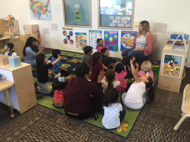 Students at a new preschool opened in Ventura County at a Boys and Grils Club campus, as part of an effort to ease the county's quality preschool shortage