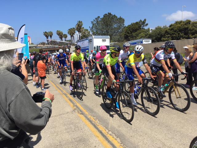 Amgen Tour of California cyclists head towards official start in Ventura
