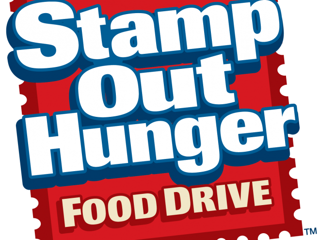 letter carriers asking for publics help in weekend food drive