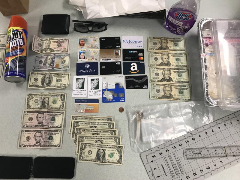 Some of the counterfeit money seized from three women in Santa Barbara and Ventura Counties