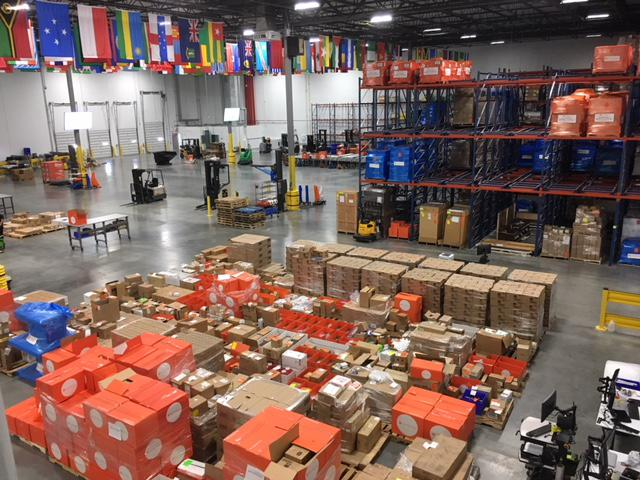 Direct Relief International's huge new headquarters and warehouse in Santa Barbara is more than 155,000 square feet