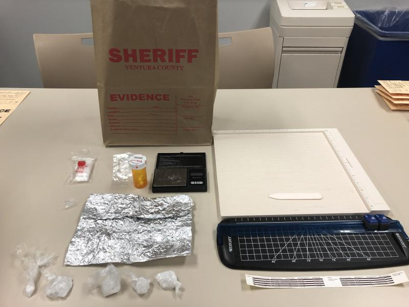 Drugs, drug paraphernalia confiscated by Ventura County Sheriff's officers