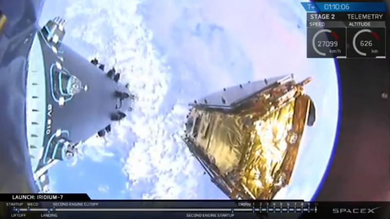 Satellites being put into orbit by SpaceX rocket Wednesday