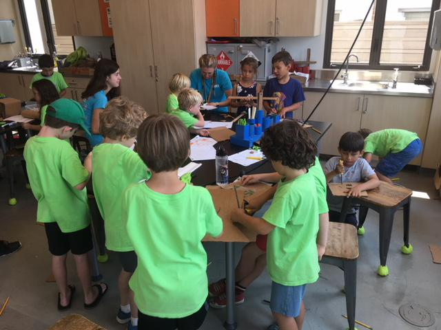 Kids use cardboard and their imaginations to learn about engineering at Santa Barbara's MOXI museum