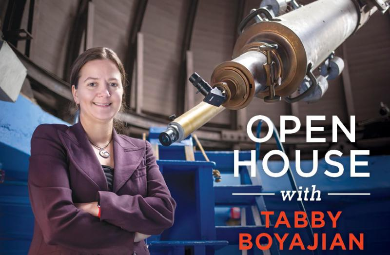 Dr. Tabetha Boyajian comes to South Coast to discuss her research into unusual star