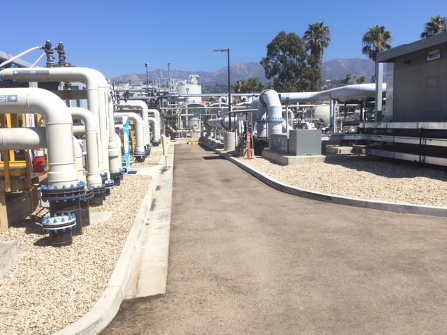 Santa Barbara's desalination plant was built in the late 1980's and early 1990's, but underwent $72 million dollars in upgrades before reopening in 2017