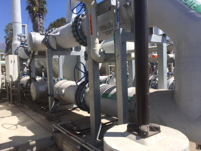 The desalination plant uses 40% less power than the original facility built a quarter of a century ago.